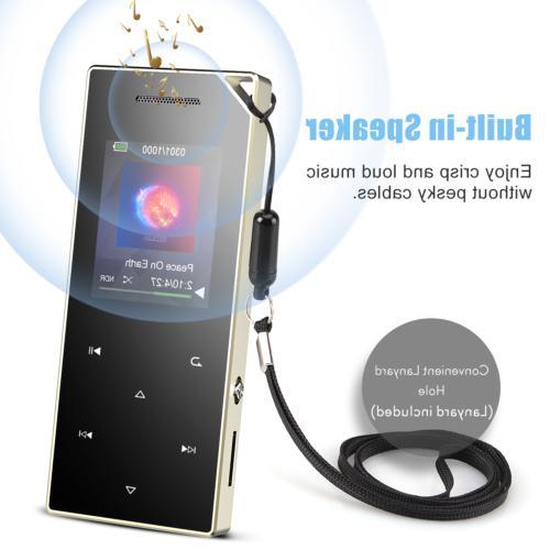 AGPTEK MP3 16GB Music Radio/Voice