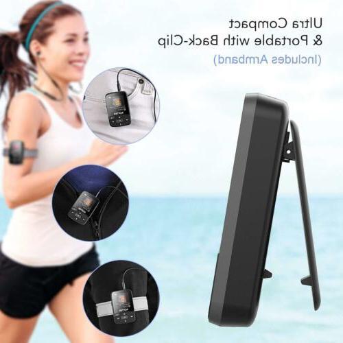 AGPTEK Bluetooth 16GB with FM Radio