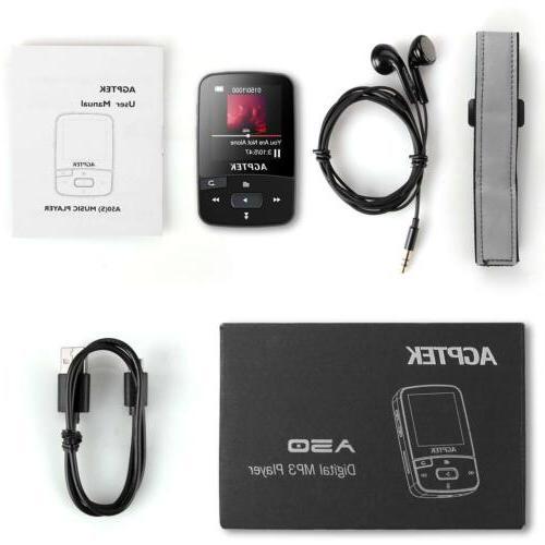 AGPTEK 16GB FM Voice