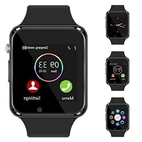bluetooth smart watch touch screen sport smart