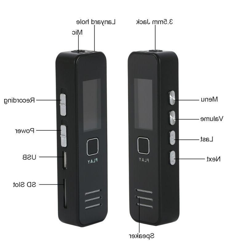 Digital Voice Sound Recorder Dictaphone Handheld