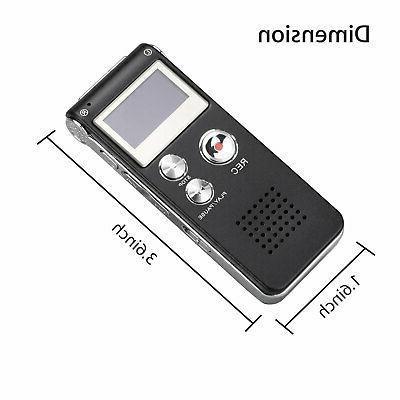 Digital Activate Audio Recording Player Lecture