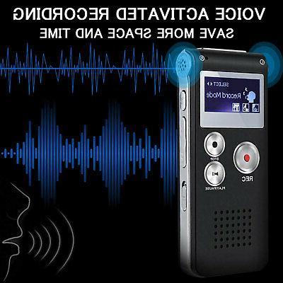 Digital Sound Audio Recording Recorder Player Lecture 8GB