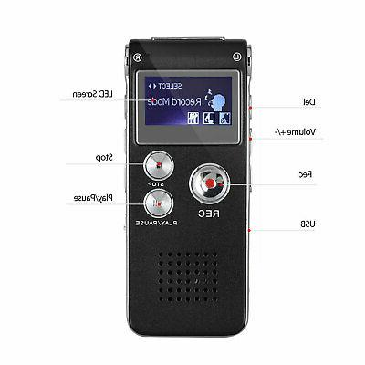 Digital Activate Recording Recorder Player Lecture