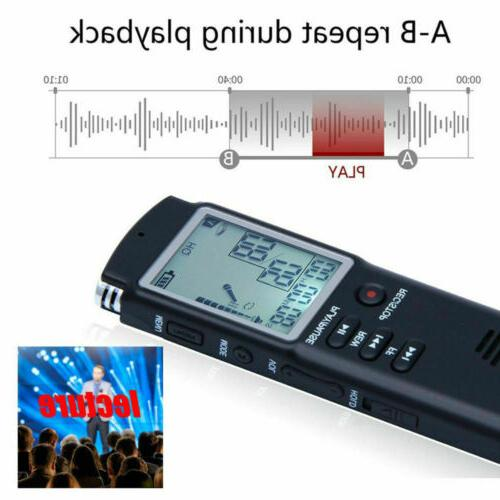 Digital Activated Recording Voice Recorder Player-Lecture