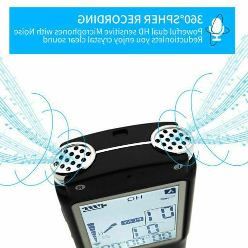 Digital Voice Recording Device 32G Recorder Player-Lecture