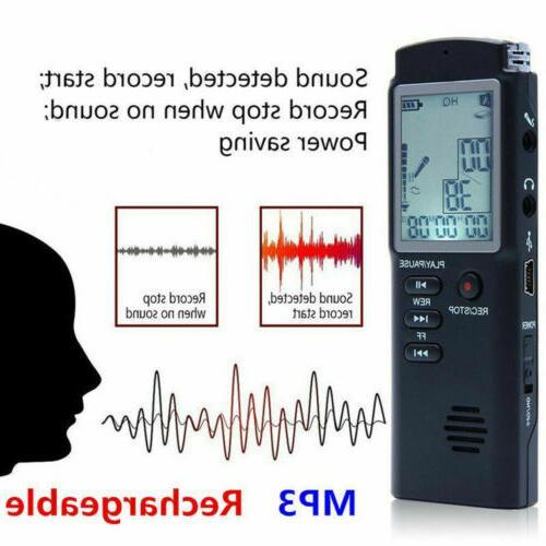 digital voice activated audio recording device 32g