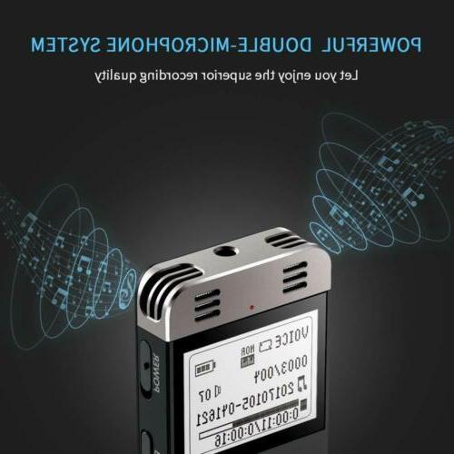 Digital Voice Activated Yemenren 8GB Sound Recorder Dictaphone