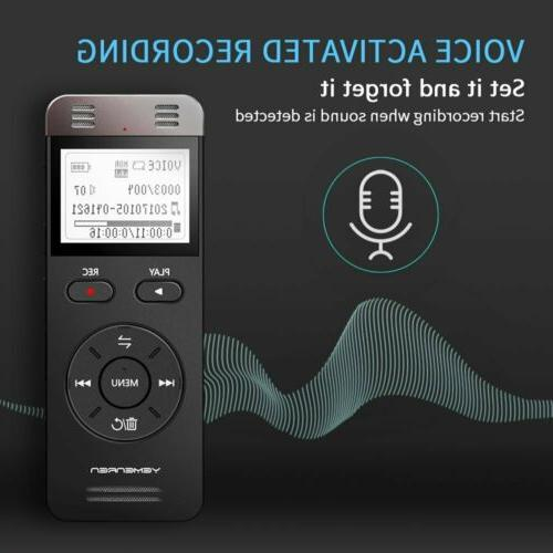 Digital Voice Yemenren Recorder Dictaphone f