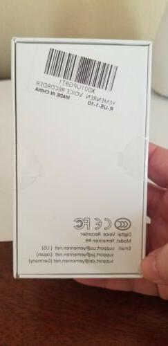 Digital Activated Yemenren 8Gb Recorder Dictaphone