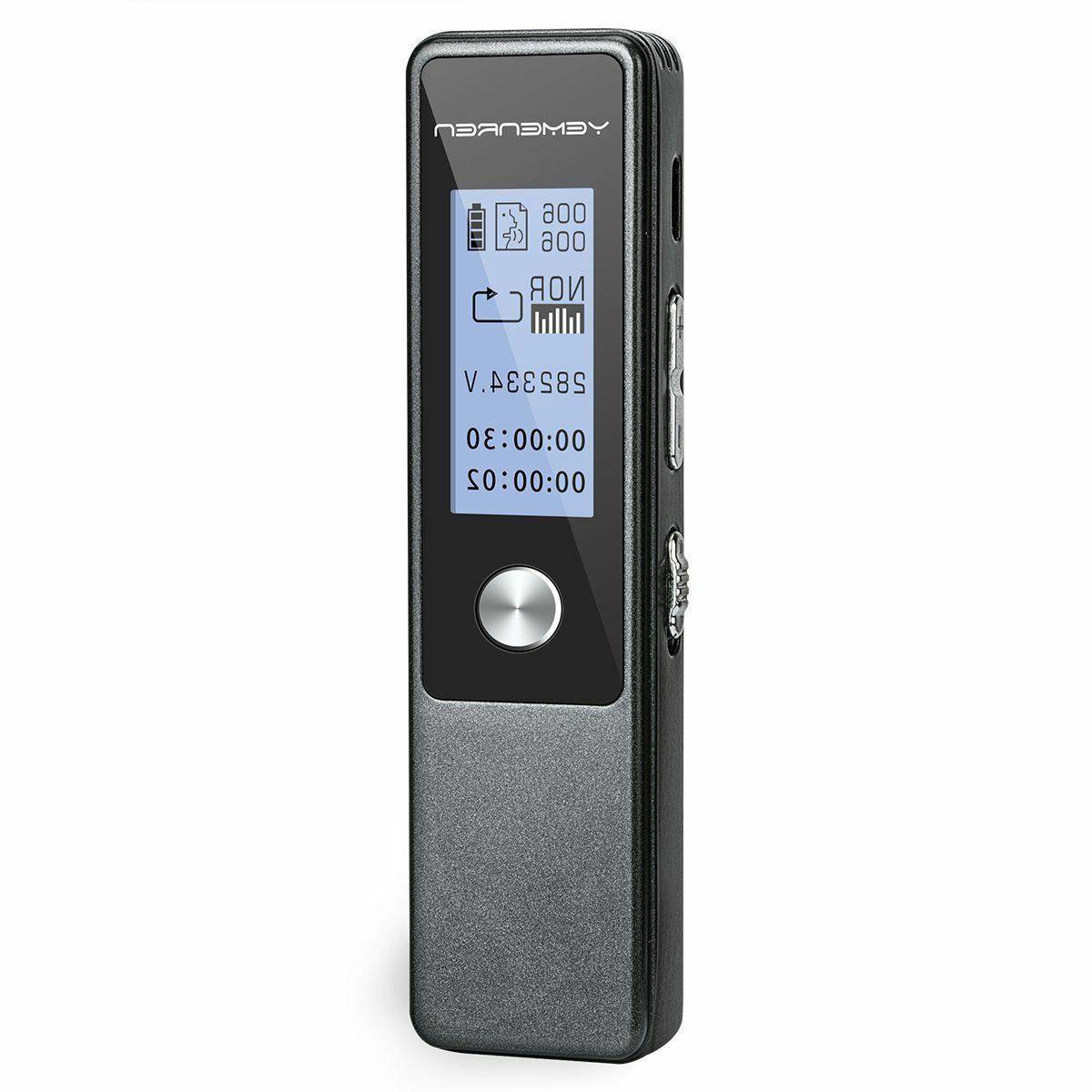 digital voice recorder 8gbaudio dictaphone voice activated