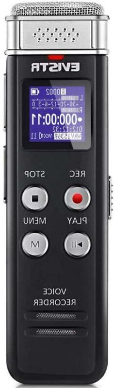 Digital Voice Recorder Activated Playback 16GB for Lecture I