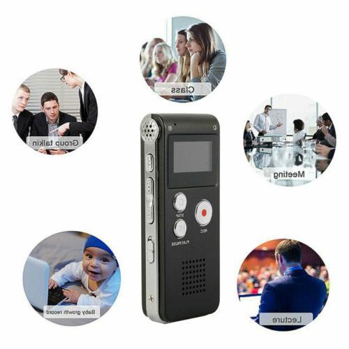 16GB Activated Digital Sound Dictaphone