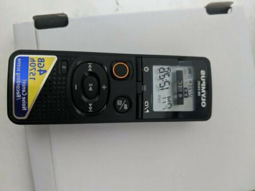 Olympus digital voice recorder VN-541PC 4GB Black