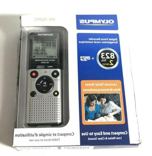 digital voice recorder vn 702pc lecture daily