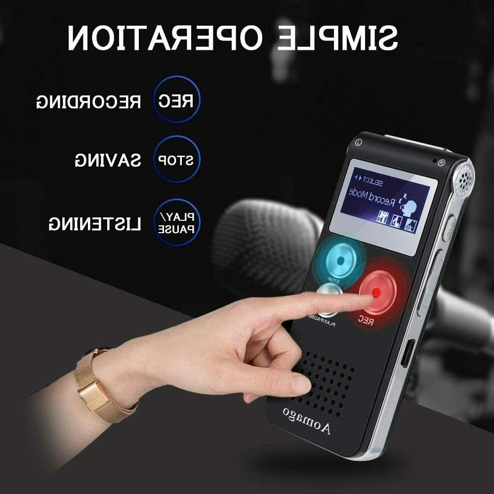 Digital Voice Activated recorder Meetings, Interviews
