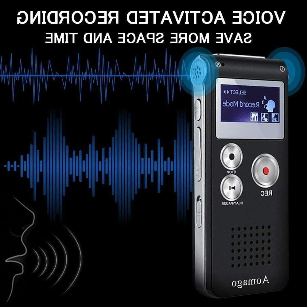 Digital Voice Activated recorder Lectures, Interviews