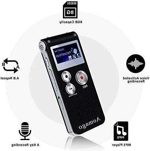 Digital Voice Recorder Voice Activated Interviews