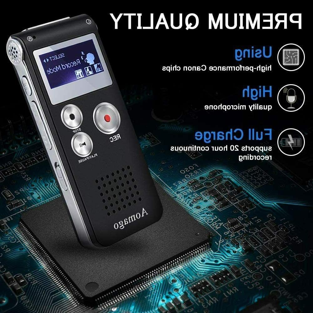 digital voice recorder voice activated recorder lectures