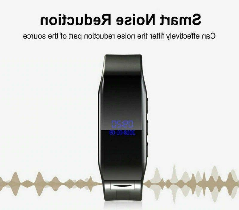 Vandlion Digital Voice Recorder Wrist Dictaphone MP3 OLED V86