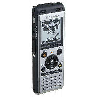 Olympus Digital Voice Recorder WS-852 Large LCD Screen And Speaker