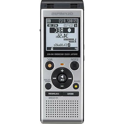 digital voice recorder ws 852 silver large