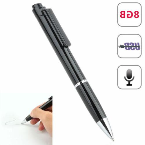 digital voice recorders dictaphones 8gb spy pen