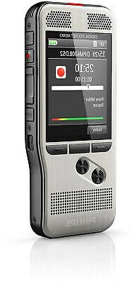 Philips DPM6000 Pocket Memo Push Button Operation