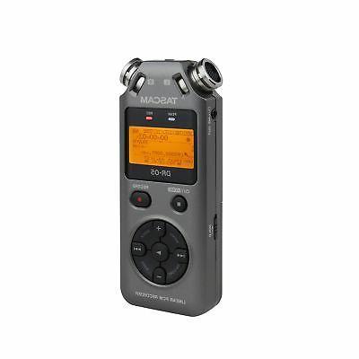 Tascam DR-05 Version Handheld Digital Audio Grey V2