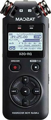 Tascam DR-05X Stereo Handheld Digital Recorder-New!-Free USS
