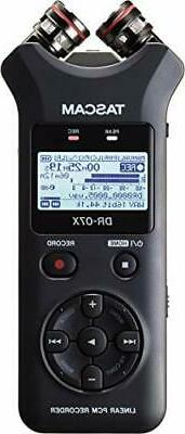Tascam DR-07X Stereo Handheld Digital Audio Recorder with US