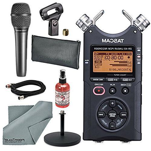 dr track handheld audio recorder