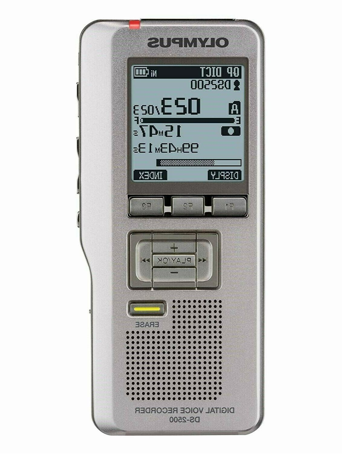 ds 2500 digital voice recorder new