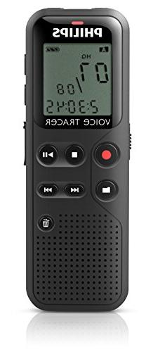 Philips DVT1100 4GB Digital Voice Recorder with PC Connectio