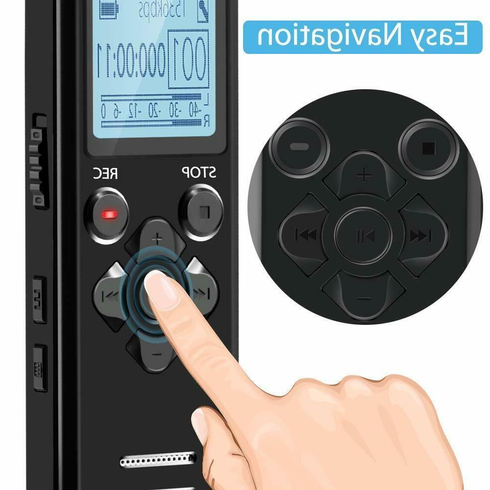 EVISTR Voice Recorder Recording Devices Voice