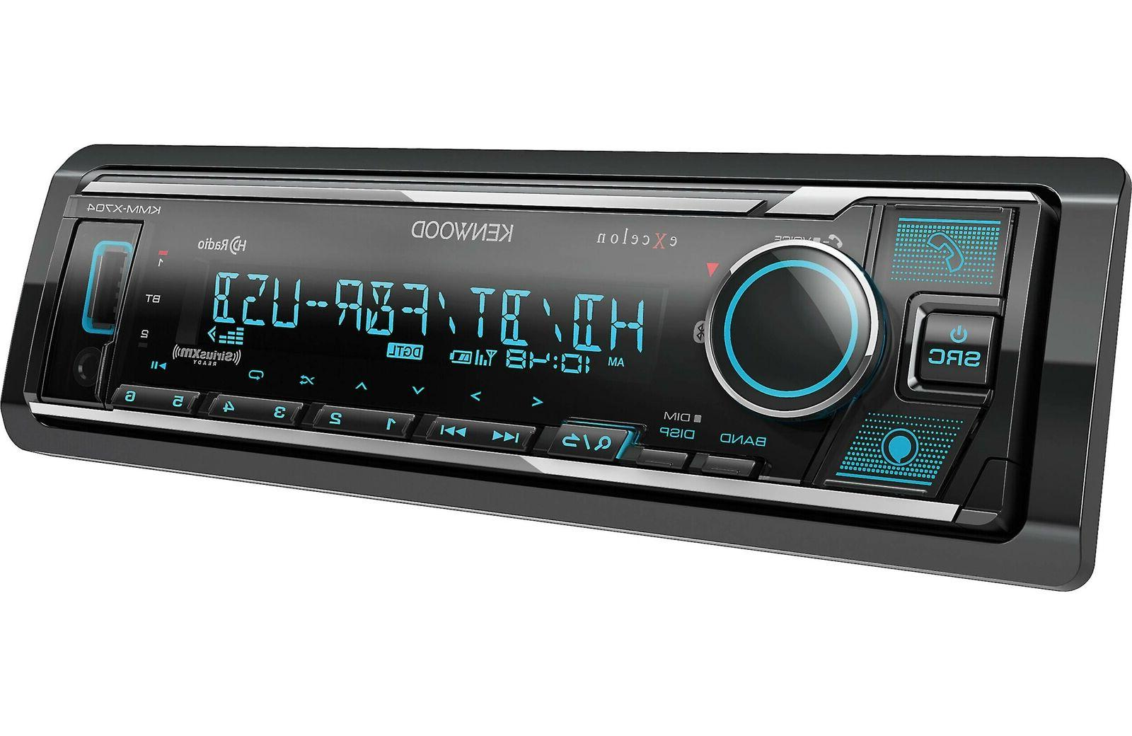 Kenwood Excelon Bluetooth Car Stereo Receiver