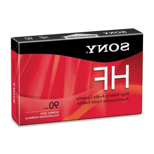 Sony Hi Fidelity Type I Audio Cassette - 1 x 90 Minute - Nor