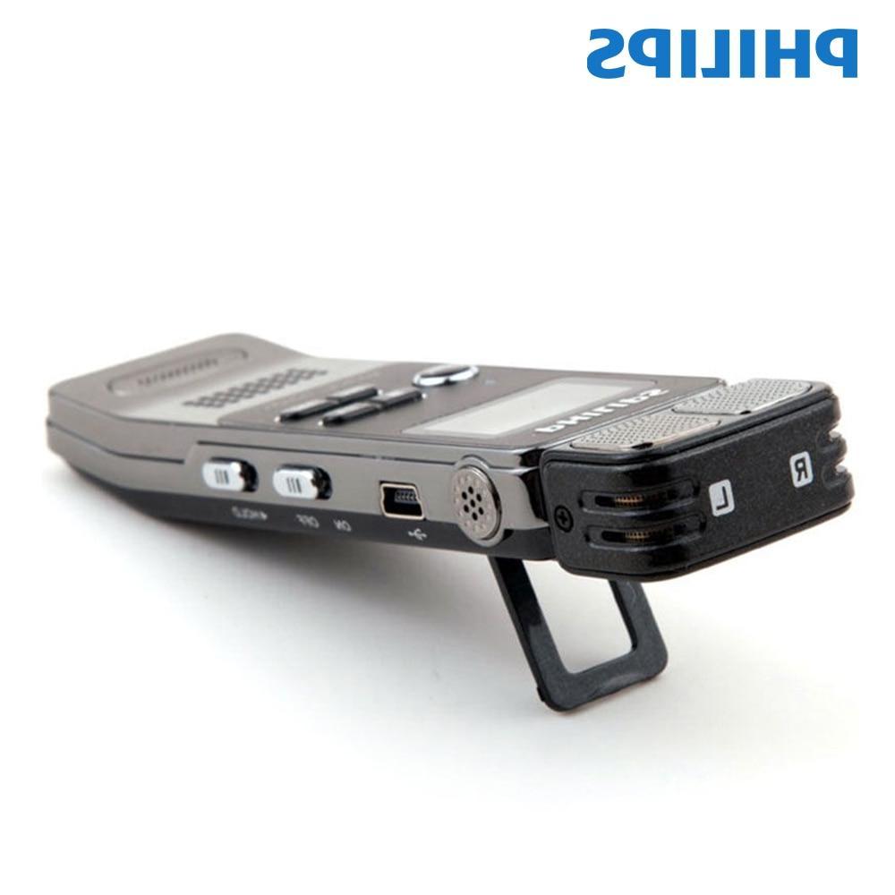 <font><b>Philips</b></font> Digital Activated <font><b>Recorder</b></font> 8GB Clip Phone Record control