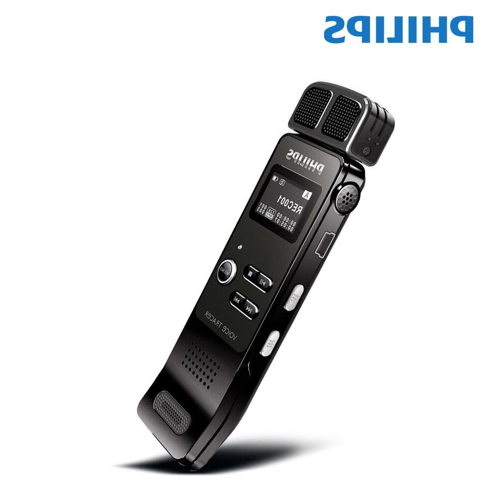 <font><b>Philips</b></font> Activated <font><b>Recorder</b></font> 8GB Clip USB Radio control