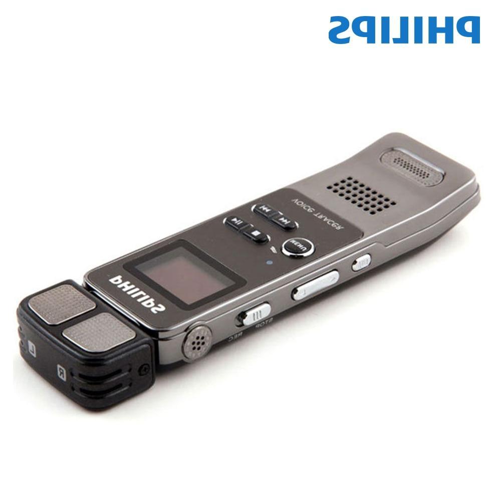 <font><b>Philips</b></font> Professional Digital <font><b>Voice</b></font> Activated <font><b>Recorder</b></font> Clip FM Phone 30m Remote control