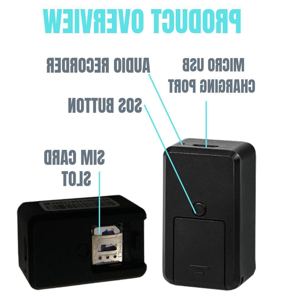 GPS Magnetic Audio Tracker