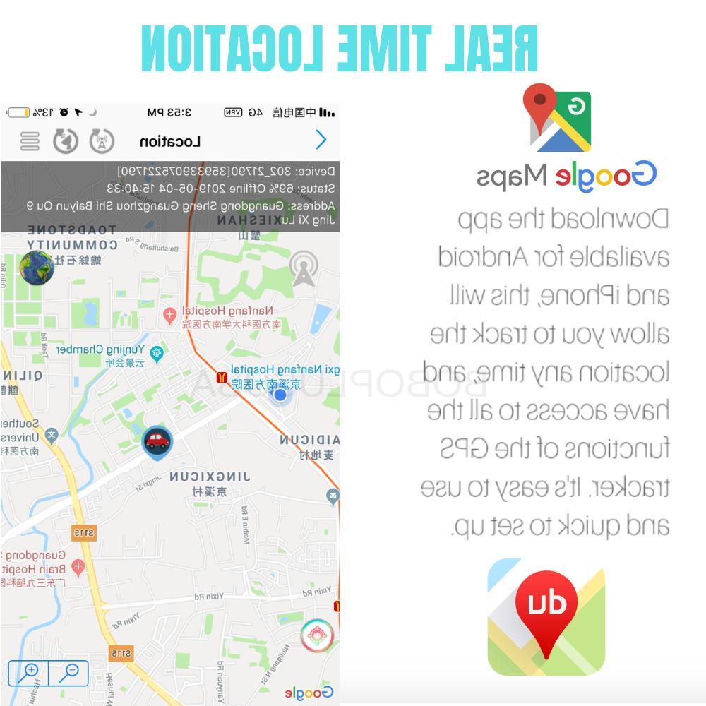 GPS Spy Device Voice Activated Mini Magnetic Audio