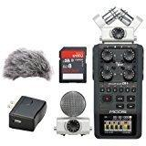 Zoom H6 Portable Recorder Kit with a Custom Windbuster, AD-1