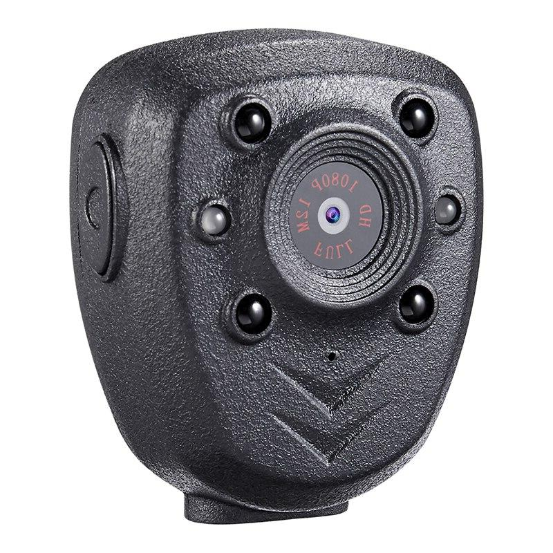 HD 1080P Police Body Lapel Worn Video Camera DVR IR Night Vi