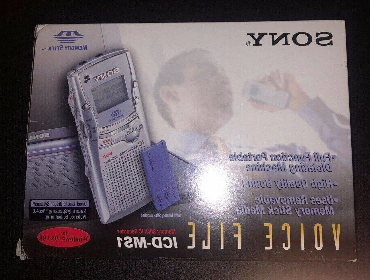 icd ms1 voice recorder