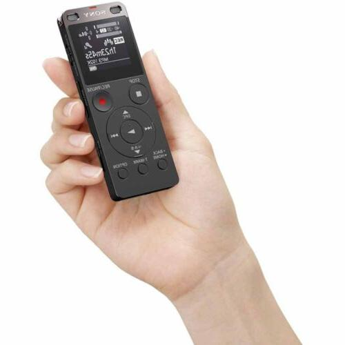 Sony Voice Recorder with Built-in USB