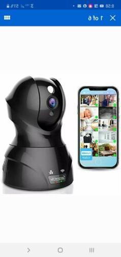 SereneLife Indoor Wireless IP Camera - HD 1080p Network Secu