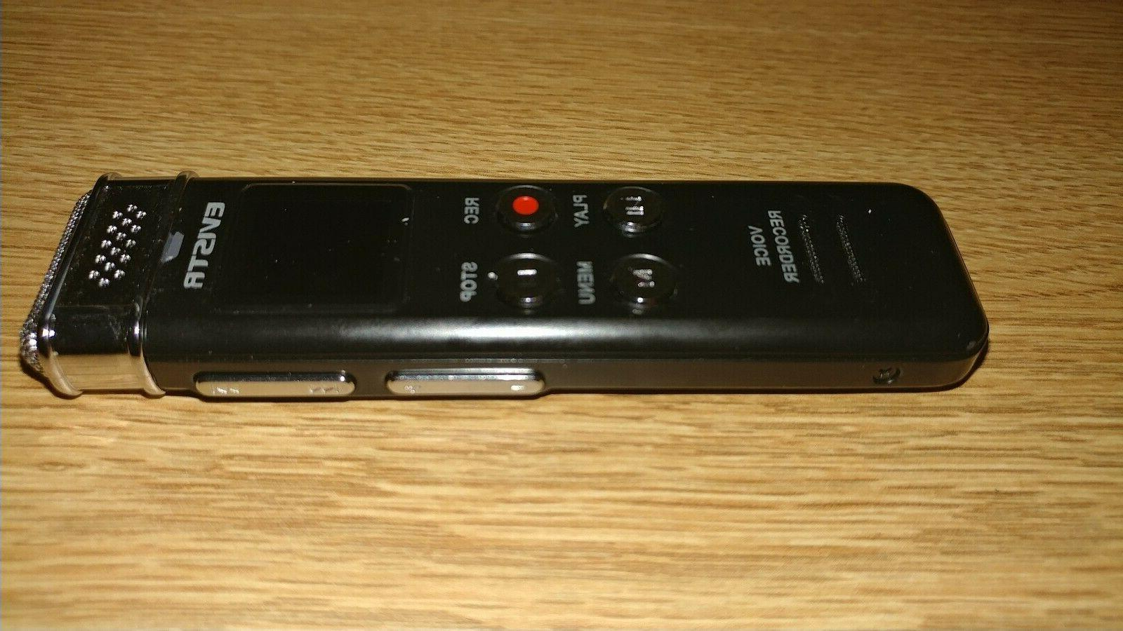 EVISTR Digital Voice Recorder NEW FREE