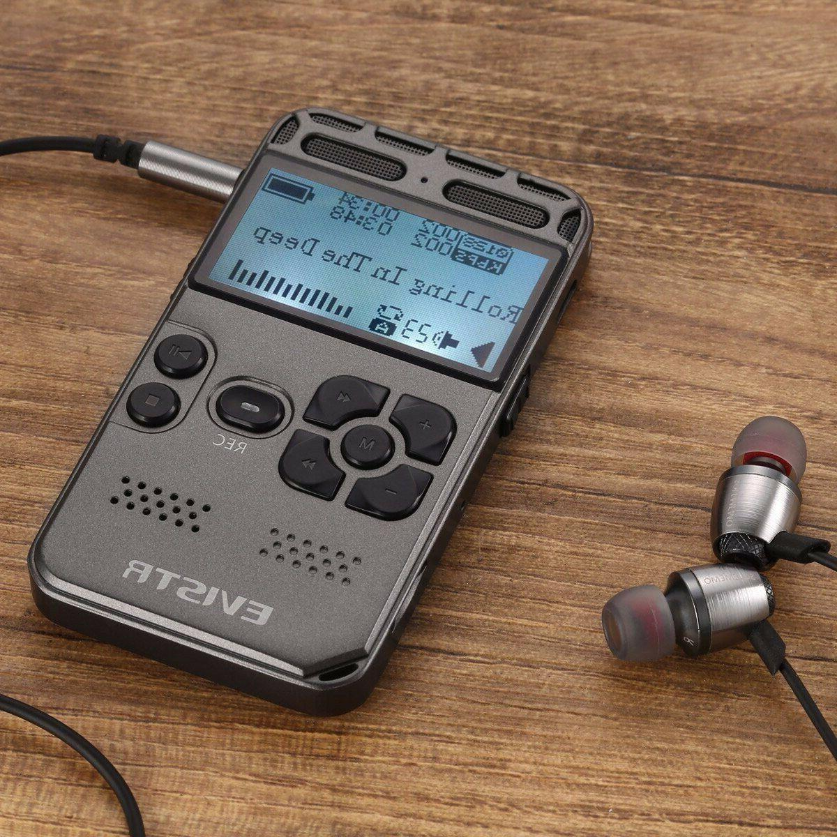 l58 digital voice recorder with tf card