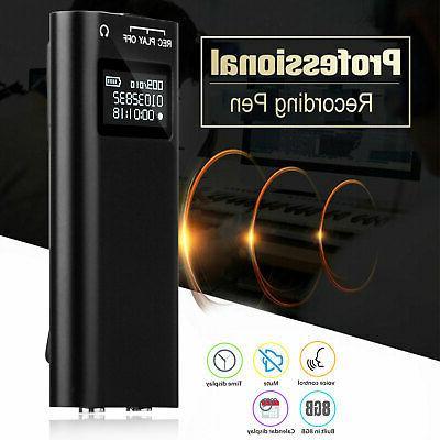 lcd mini spy audio recorder voice activated